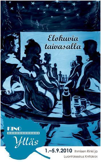 Kino Ylläs 2010 juliste