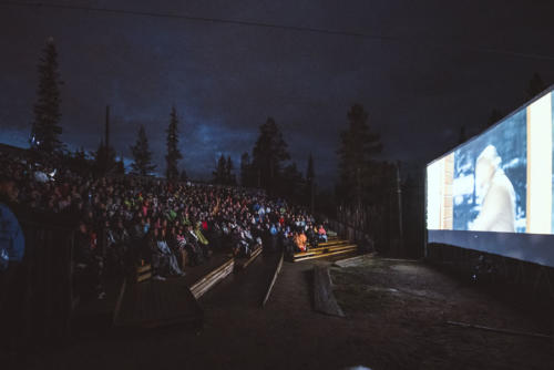 Kino Ylläs 2019 Elokuvaa ulkoilmassaVisit Ylläs / Eetu Leikas